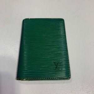 Louis Vuitton EPI mini wallet